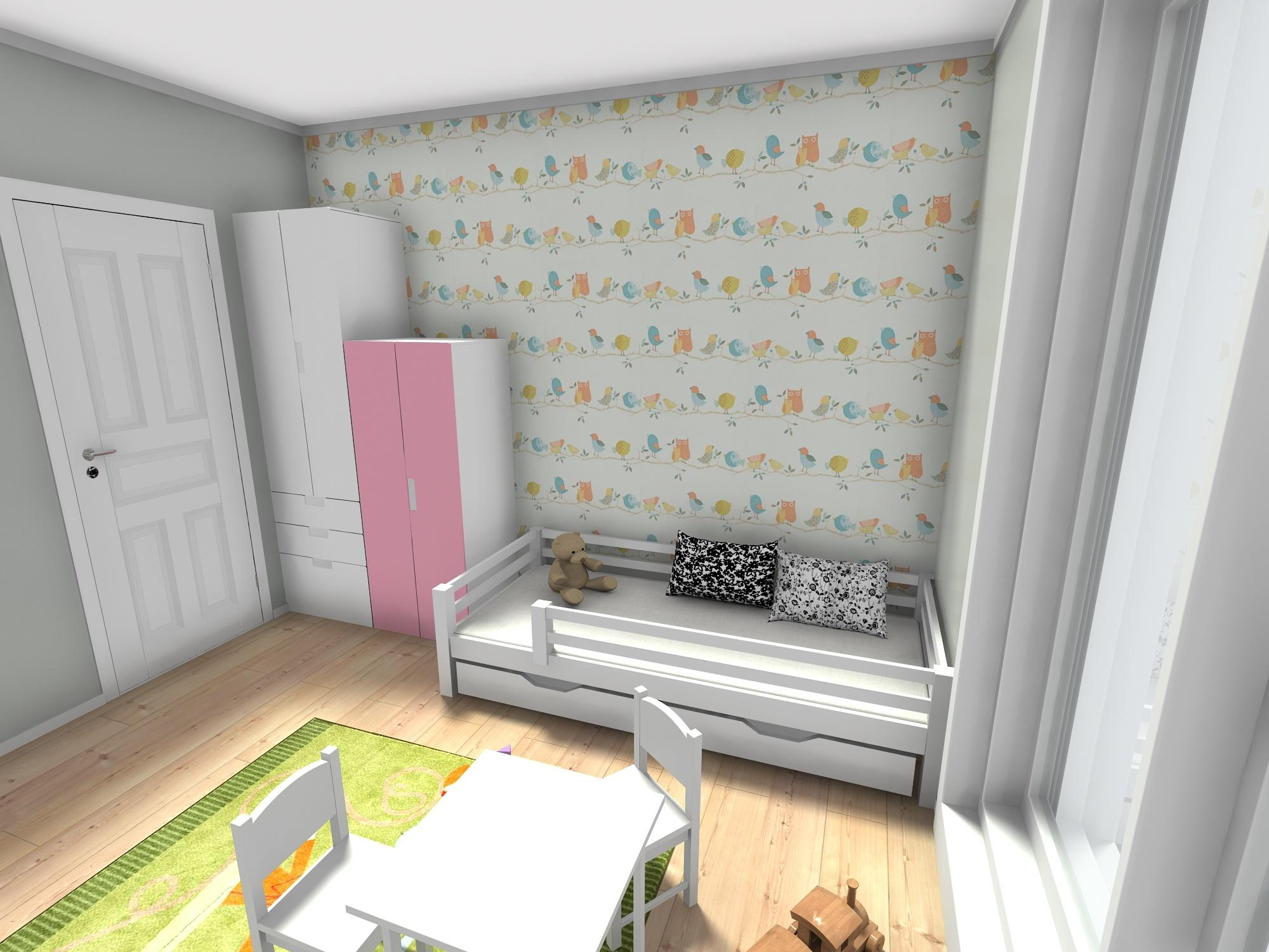 trosoban stan 60 m2 djecja soba