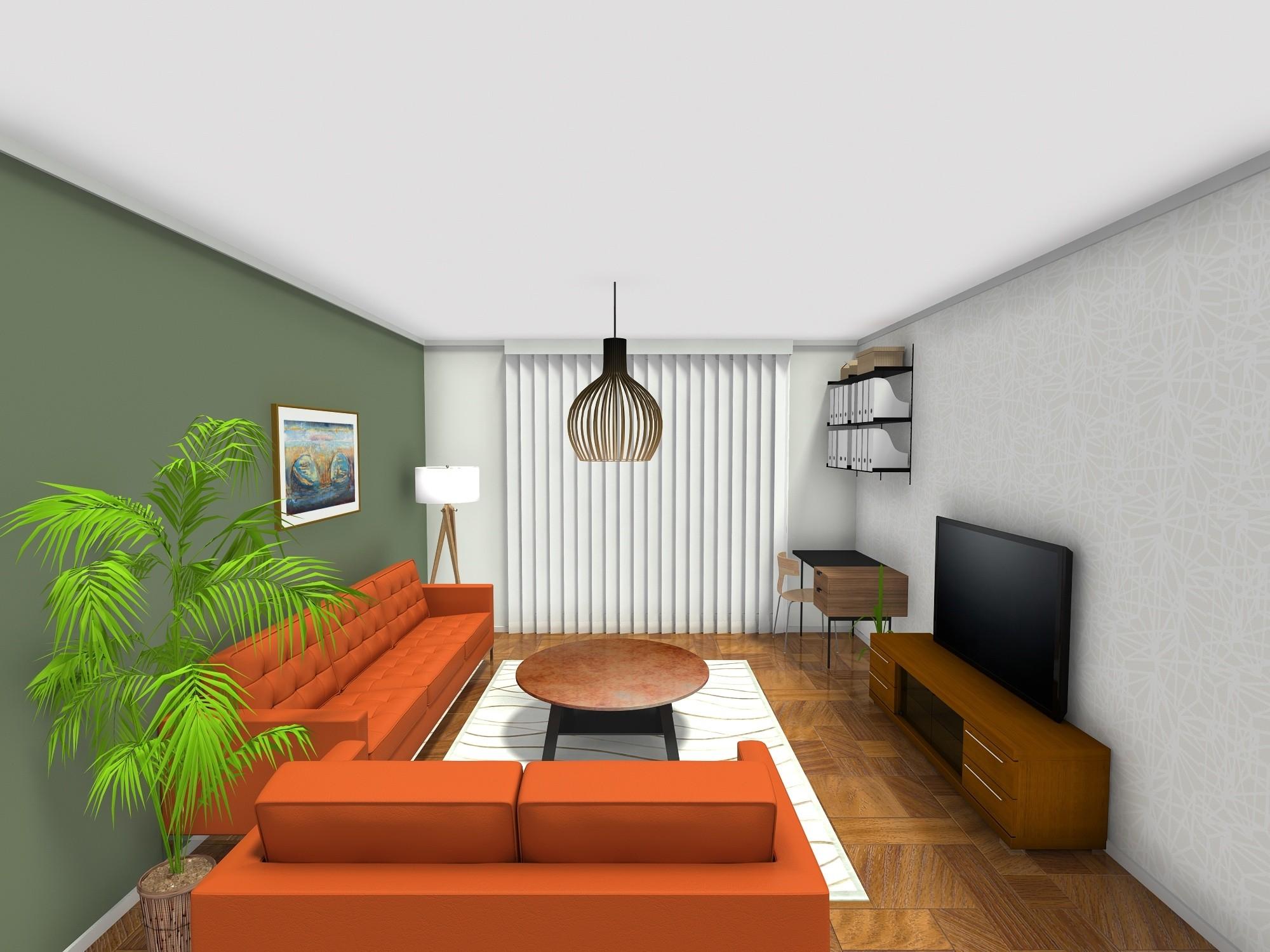 dvosoban stan 52 m2, veliki dnevni boravak