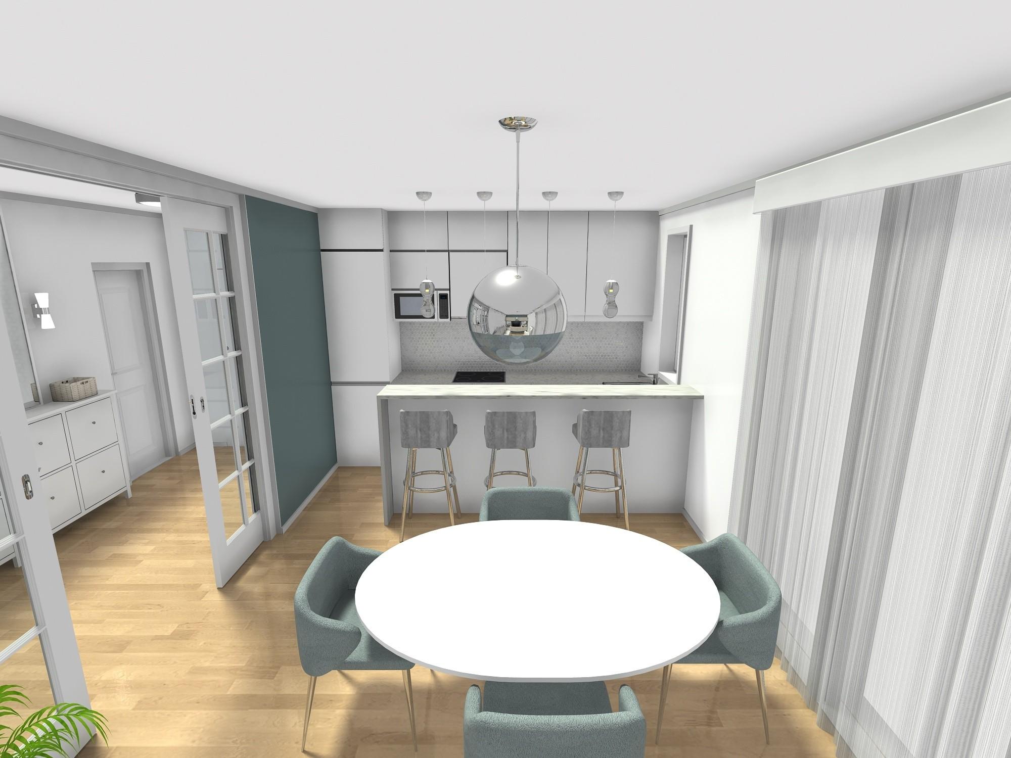 trosoban stan 60 m2 kuhinja i blagovaonica