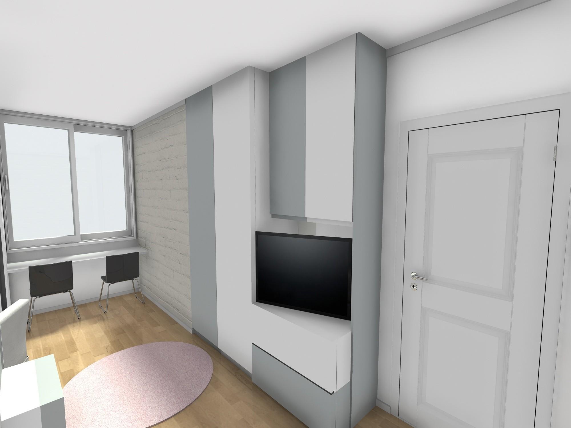 trosoban stan 60 m2 tinjedžerska soba
