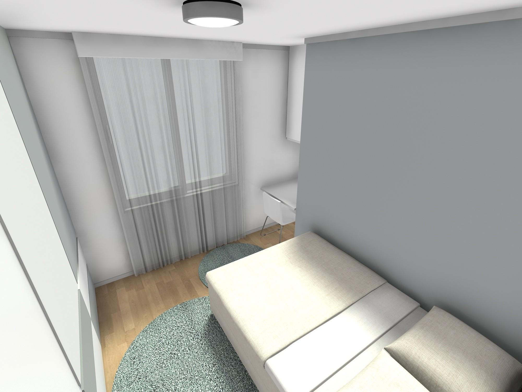 trosoban stan 60 m2 spavaca soba