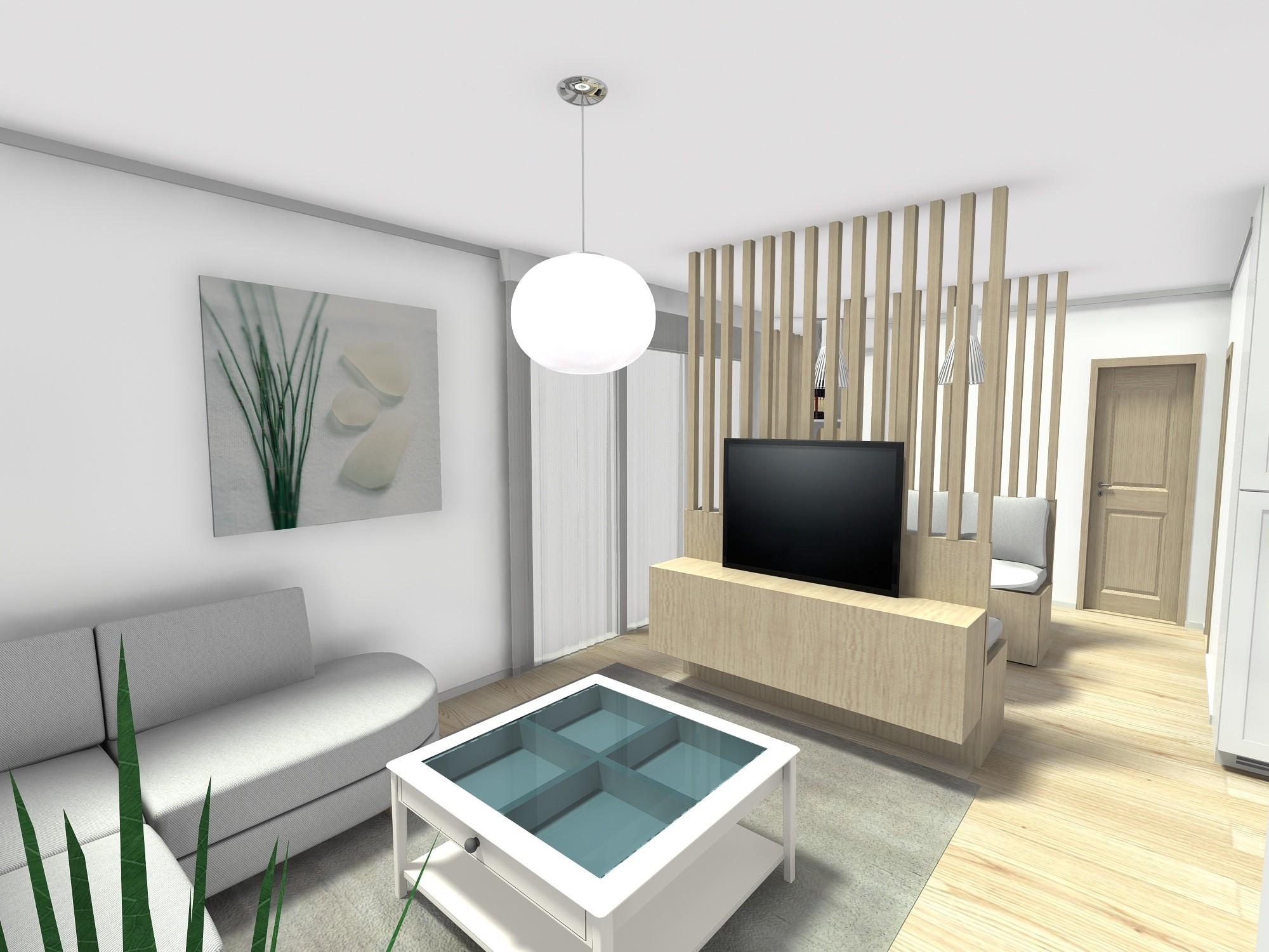 dnevni boravak stan 45 m2