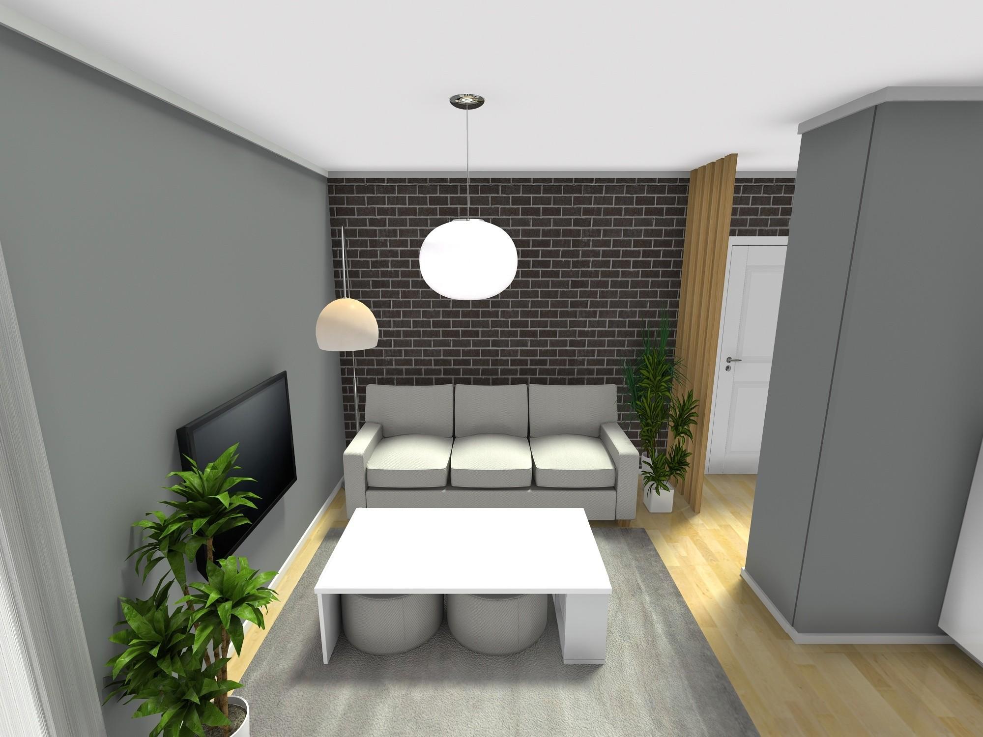 dnevni boravak stan 40 m2